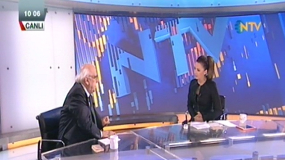Minister Avcı guest at live NTV program