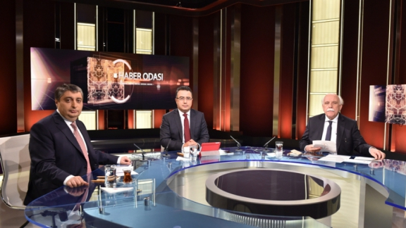 TRT News program hosts Minister Avcı on live program