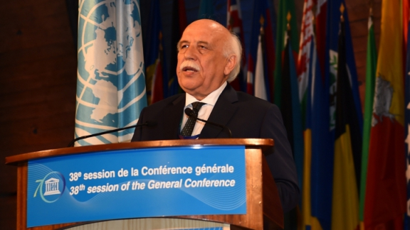 Minister Avcı submitted National Declaration of Turkey in UNESCO's General Conference